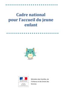 chartre Accueil du jeune enfant illustration chat bleu