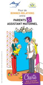 Dessin de parents et assistant maternel