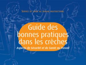 Couverture du guide des bonnes pratiques en crèches