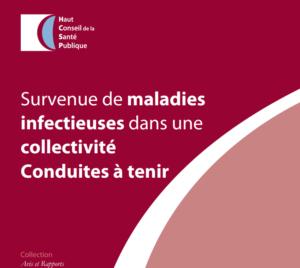 couverture de la fiche survenue de maladies infectieuses en collectivité