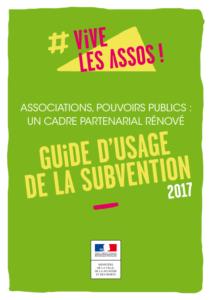 guide d'usage de la subvention 2017 assos