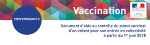 couverture du document d'aide au contrôle vaccinal des enfants