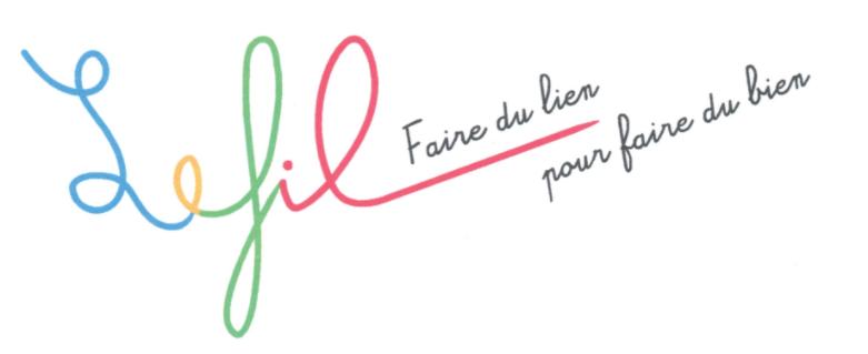Logo le fil faire du lien pour faire du bien